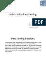 Informatica Partitions