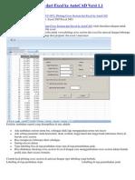 Plotting Cross Section Dari Excel Ke AutoCAD Versi 1