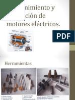 Mantenimiento y reparación de motores asíncronos