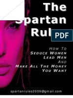 THE SPARTAN RULES