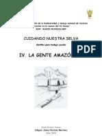 CARTILLA 4 - LA GENTE AMAZÓNICA &