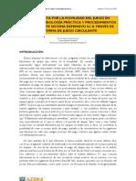 Juan Antón. Una apuesta por la movilidad. METODOLOGÍA PRÁCTICA Y PROCEDIMIENTOS TÁCTICOS ANTE SISTEMA DEFENSIVO 5-1