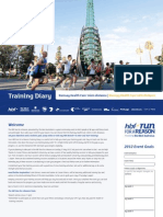 Electronic Training Diary for HBF run for reason