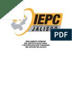 Reglamento Interior del Instituto Electoral y de Participación Ciudadana