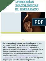 Riesgo de Embarazo FDA