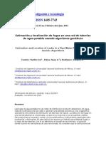 Estimación y localización de fugas en una red de tuberías de agua potable usando algoritmos genéticos.docx