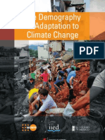The Demography of Adaptation to Climate Change