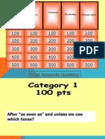 Jeopardy Speakout 1 - 4 Upper Intermediate