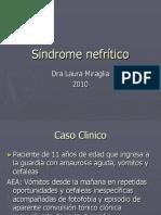 Sindrome Nefritico-L. MIRAGLIA