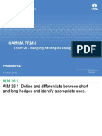 Topic 26 - Hedging Strategies Using Futures