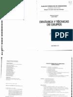 Dinamica y Tecnicas de Grupos - Alfonso Francia