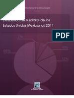 INEGI Suicidio Senso