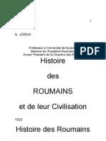 Iorga-histoire Des Roumains Chap.3
