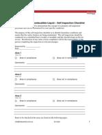 Fl Self Inspection Checklist