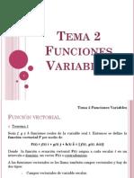 Tema 2 Funciones Variables