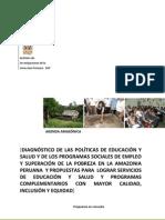 Diagnostico de Politicas Sociales en La Amazonia Ok1