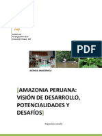 Vision de Desarrollo Sostenible de La Amazonia Peruana.