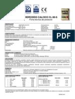 Hidroxido Calcico CL80