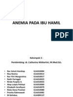 Ppt Presentasi Referat Kel 3 Anemia Ibu Hamil