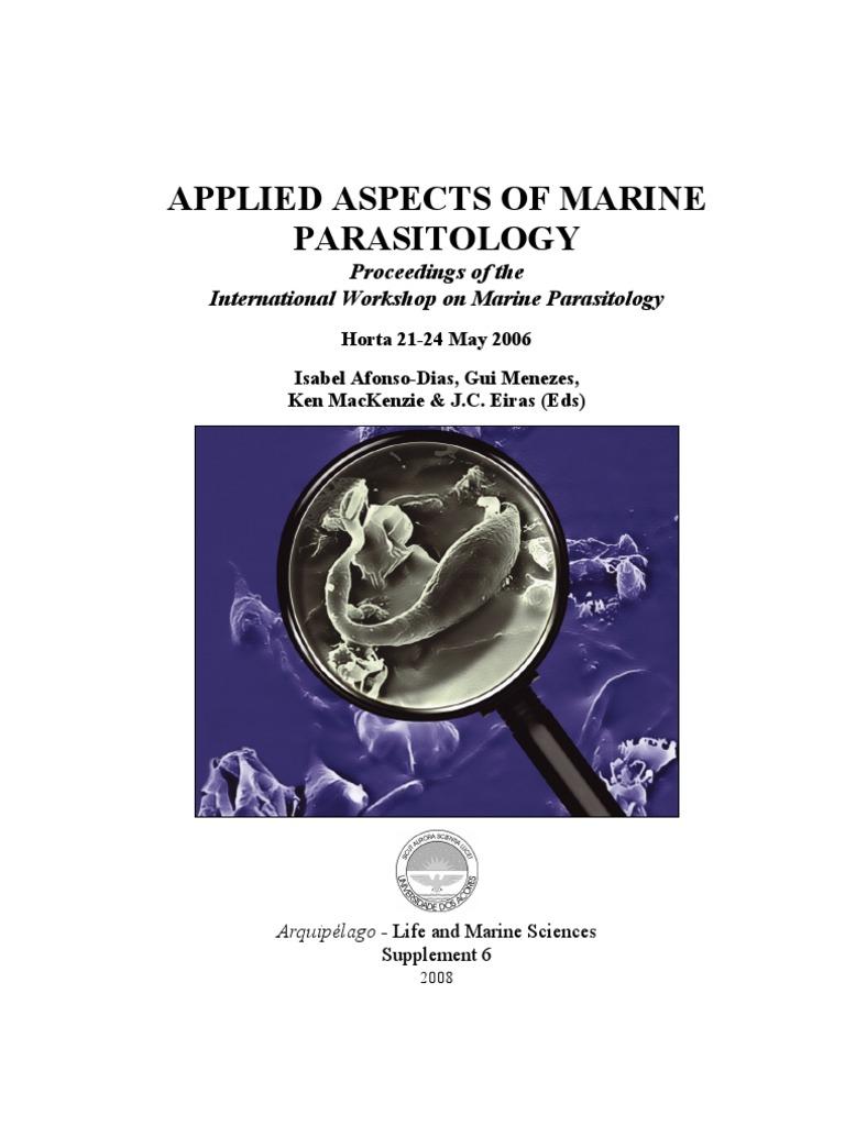 Applied aspects of marine parasitology | Parasitism