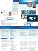 Brochure Engine Testing & Certification 2013