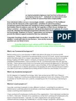 Corporate Coaching Profile