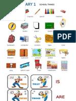 Vocabulary 1 Classroom
