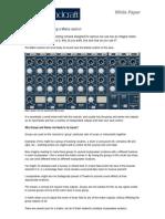 Soundcraft Console Matrix
