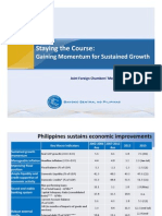 Staying the Course: Gaining Momentum for Sustained Growth