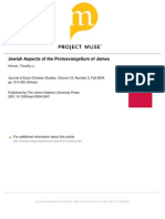 Jewish Aspects of the Protoevangelium of James