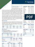 Market Outlook 04-09-2013