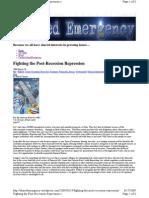 Fighting the Post-Recession Repression