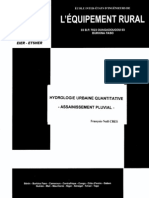 Hydrologie Urbaine Quantitative Sep.2001_2