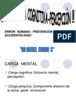Carga Mental, Ergonomia Cognitiva Dr. Rafael Senior