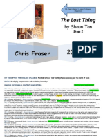 s2 the lost thing english unit