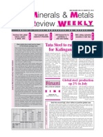Minerals and Metal Review August 2012 - 4