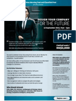 Design Your Company for the Future Workshop by Mike Walsh in Hong Kong