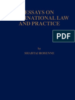 Essays on International Law