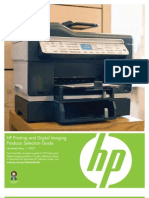 IPG Printer Selection Guide- 0507