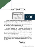 327661327.Guía de revisión Aritmética