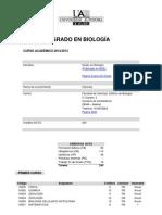 Grado Biologia