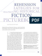 Comprehension Strategies for Reading Historical Fiction Picturebooks
