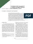 Multivariate statistics in groundwater