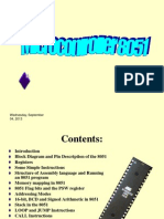 Microcontroller 8051, Instruction Set