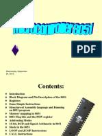 Microcontroller 8051, Instruction Set