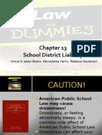 Group Presentation Sovreign Immunity & School law