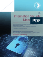 Information Security Management, MSc Donau-Universität Krems