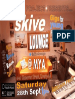 Skive Lounge @ MYA 28th September