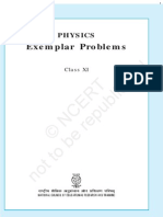 Exemplar Problems in K12 Physics Part 1