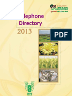 ICAR Telephone Directory(33 55)